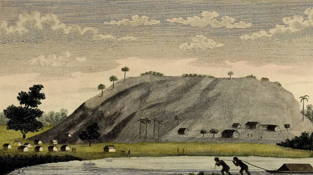 Narrative, of a Five Years Expedition Vol. 2 - View of the Blue Bergh called Mount Parnassus (1796)