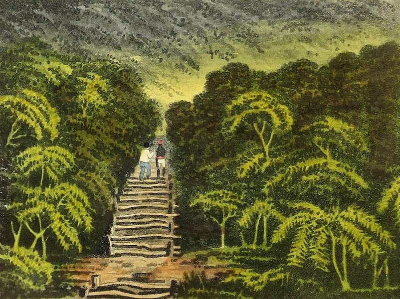 Narrative of a Journey in the Interior of China - The Ascent Up Gonong Karang [II] (1818)