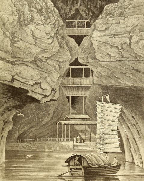 Narrative of a Journey in the Interior of China - The Temple of Quong Ying (1818)