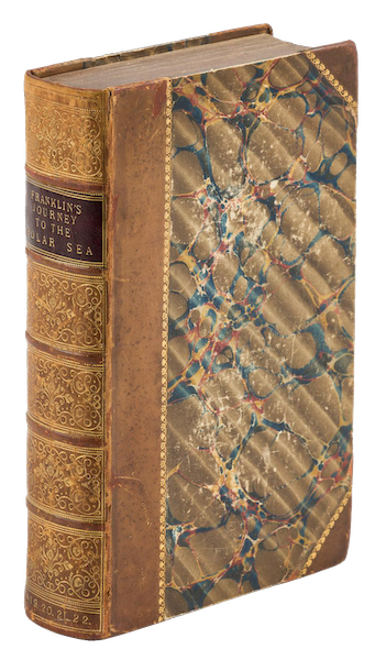 Narrative of a Journey to the Shores of the Polar Sea - Book Display (1823)