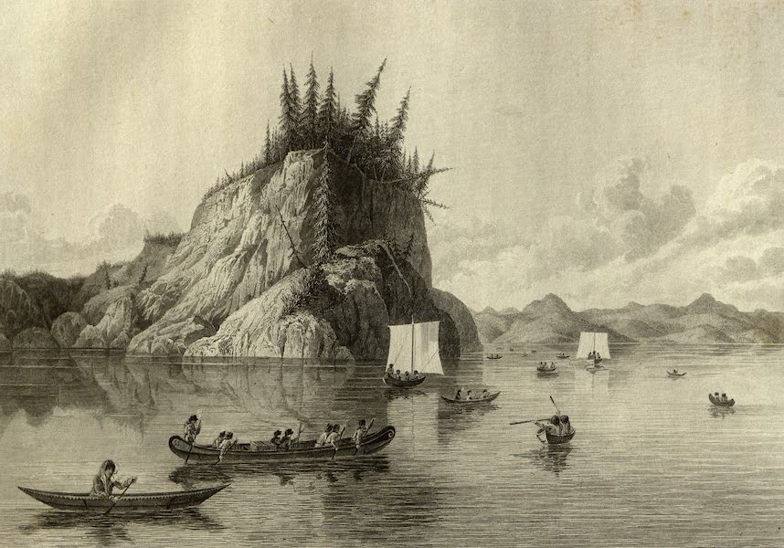 Narrative of a Journey to the Shores of the Polar Sea - Expedition Crossing Lake Prosperous. May 30, 1820 (1823)