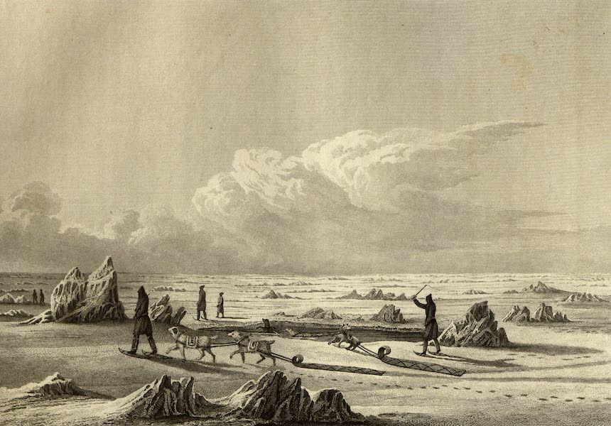 Narrative of a Journey to the Shores of the Polar Sea - Winter Travelling on Great Slave Lake (1823)