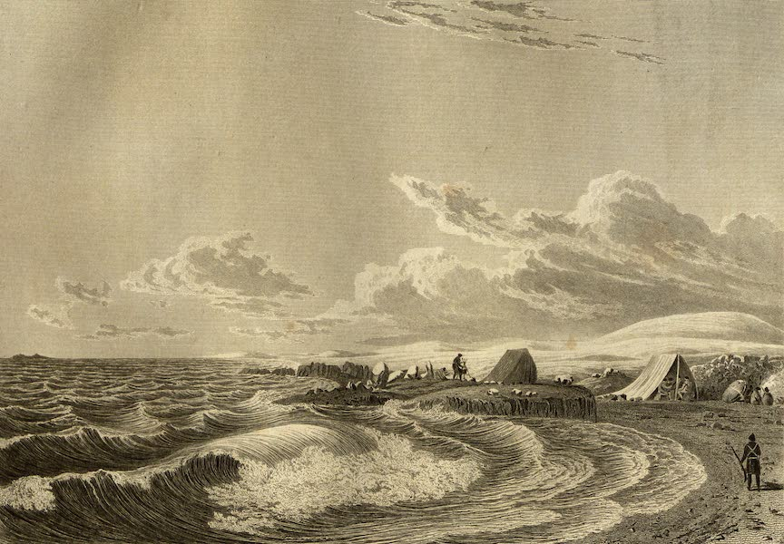 Narrative of a Journey to the Shores of the Polar Sea - Expedition Encamped at Point Turnagain. Aug. 21, 1821 (1823)