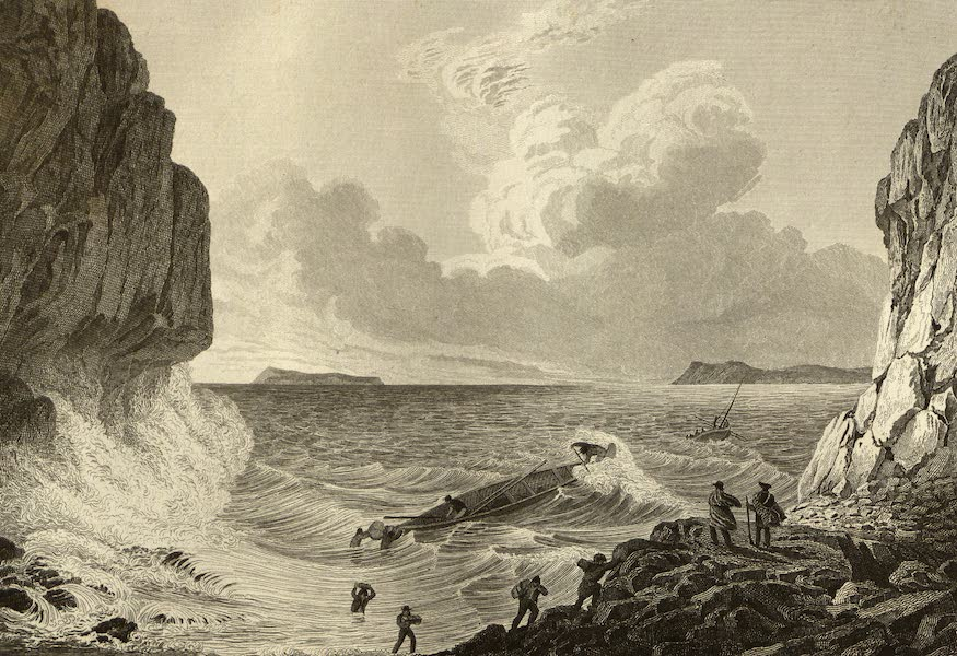 Narrative of a Journey to the Shores of the Polar Sea - Expedition Landing in a Storm. Aug. 21, 1821 (1823)