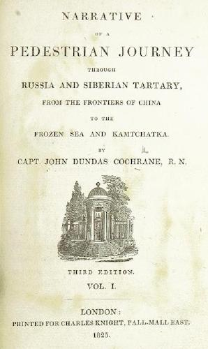 English - Narrative of a Pedestrian Journey through Russia and Siberian Tartary