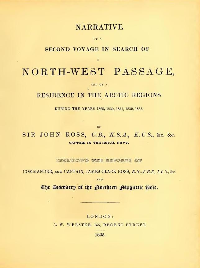 English - Narrative of a Second Voyage in Search of a North-West Passage Vol. 1