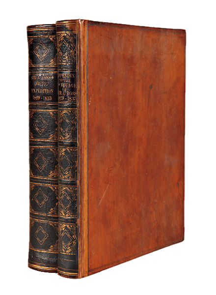 Narrative of a Second Voyage in Search of a North-West Passage Vol. 1 - Book Display (1835)