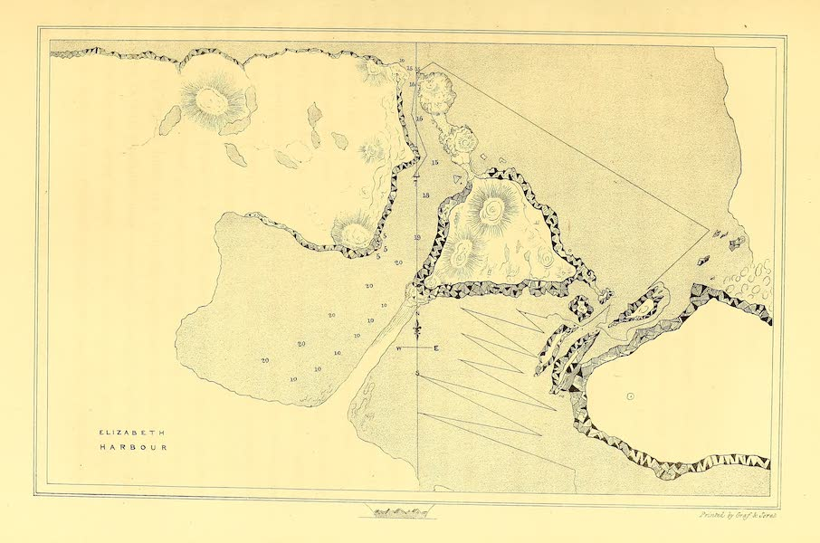 Narrative of a Second Voyage in Search of a North-West Passage Vol. 1 - Map of Elizabeth Harbour (1835)