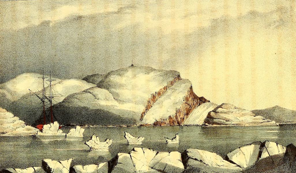 Narrative of a Second Voyage in Search of a North-West Passage Vol. 1 - Andrew Ross Island (1835)