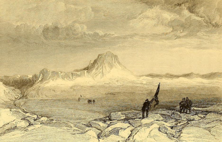 Narrative of a Second Voyage in Search of a North-West Passage Vol. 1 - Lady Melville's Lake and Dundas Mountains (1835)