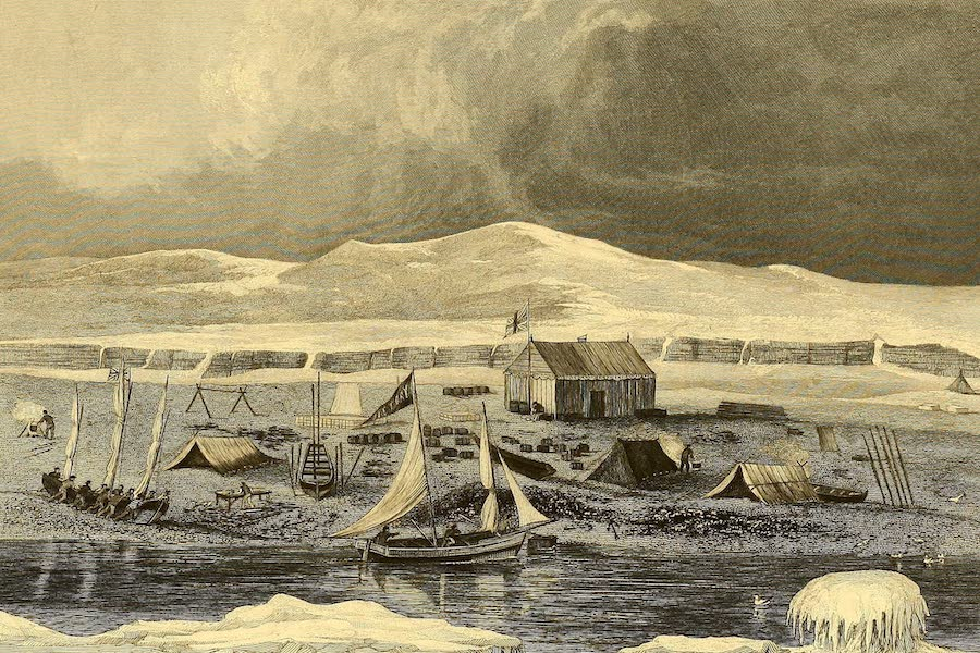 Narrative of a Second Voyage in Search of a North-West Passage Vol. 1 - Somerset House, Fury Beach, North Somerset (1835)