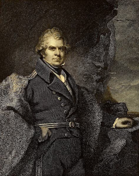 Narrative of a Second Voyage in Search of a North-West Passage Vol. 2 - Portrait of Sir John Ross (1835)