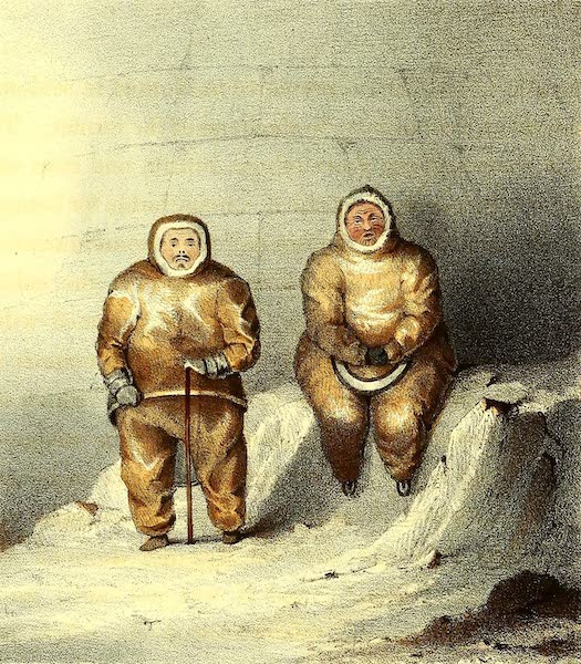Narrative of a Second Voyage in Search of a North-West Passage Vol. 2 - Alictu and Kanguagiu (1835)