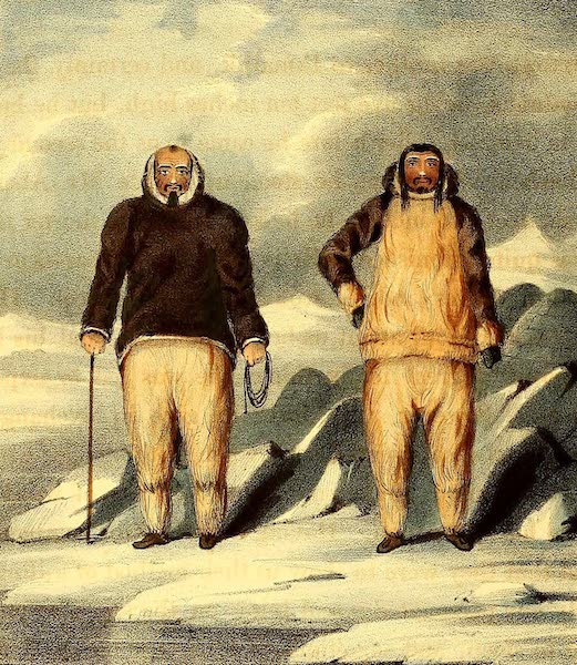 Narrative of a Second Voyage in Search of a North-West Passage Vol. 2 - Konyaroklick or Bald Head and Neweetioke (1835)