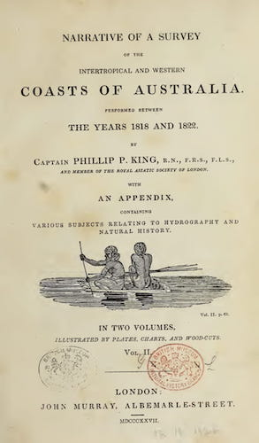 English - Narrative of a Survey of the Intertropical and Western Coasts of Australia Vol. 2