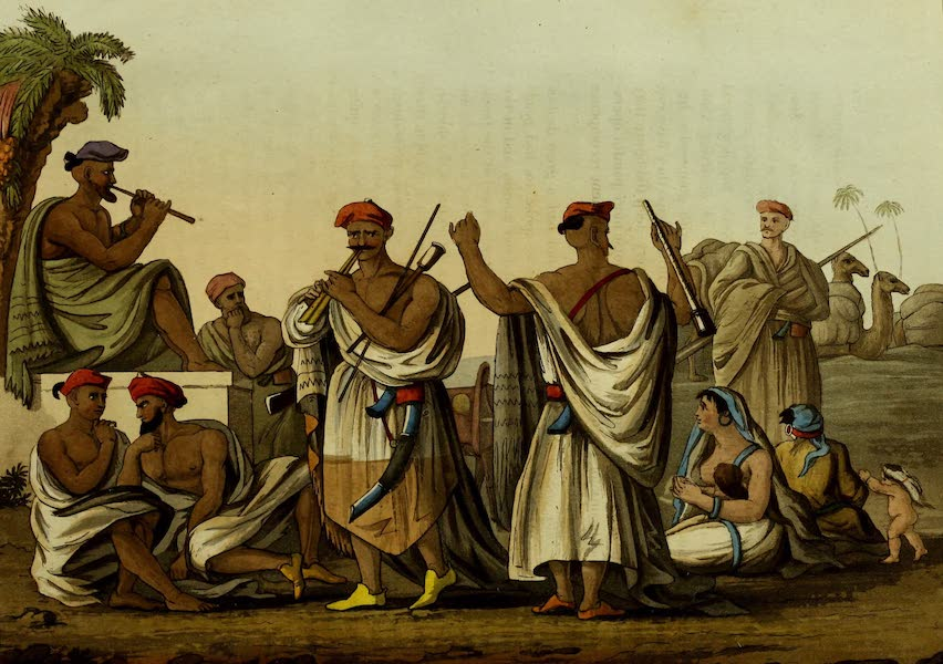 Narrative of a Ten Years Residence at Tripoli in Africa - Arabs Recreating in the Desert (1816)
