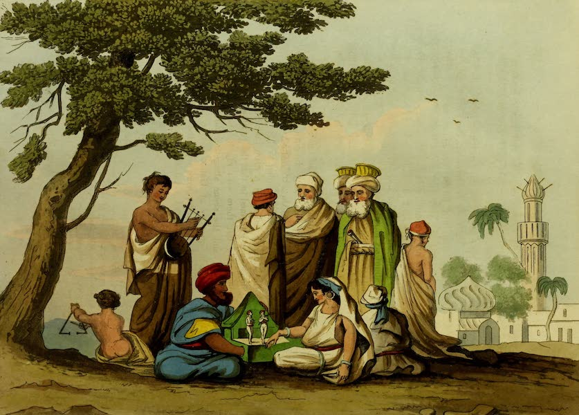 Narrative of a Ten Years Residence at Tripoli in Africa - An Egyptian Puppet Show (1816)