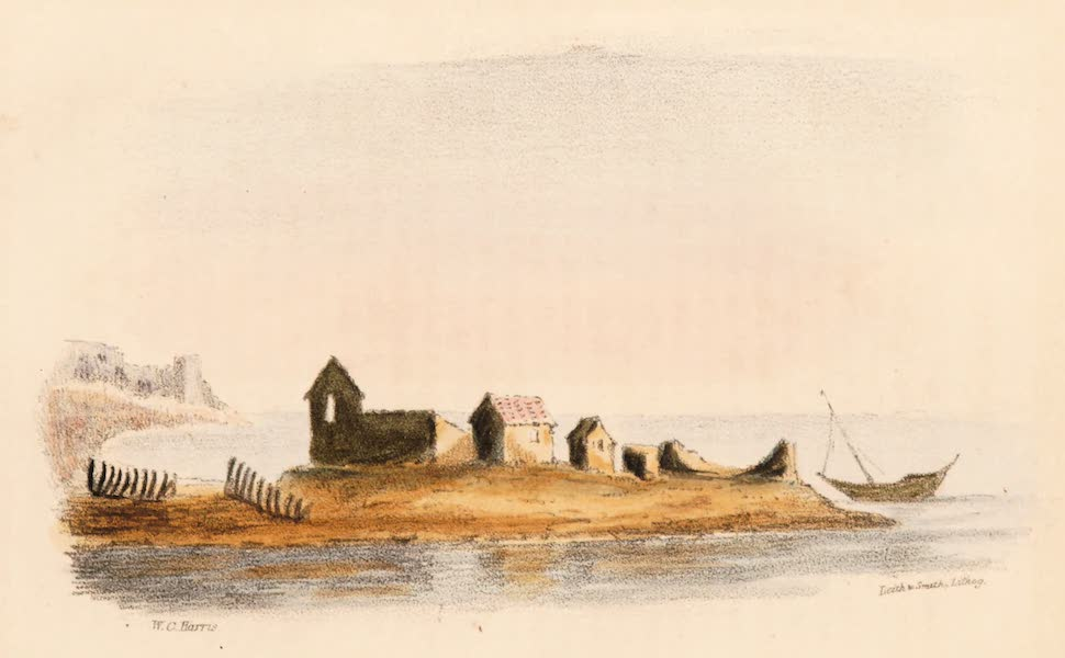 Narrative of a Visit to the Court of Sinde - The Port near Luckput (1839)