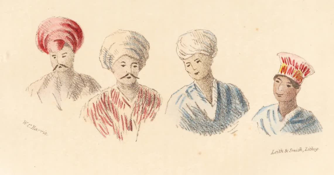Narrative of a Visit to the Court of Sinde - Lowannas or Hindoos of Sinde / Sindean Boy (1839)
