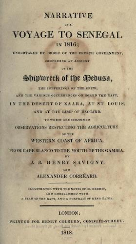 California Digital Library - Narrative of a Voyage to Senegal