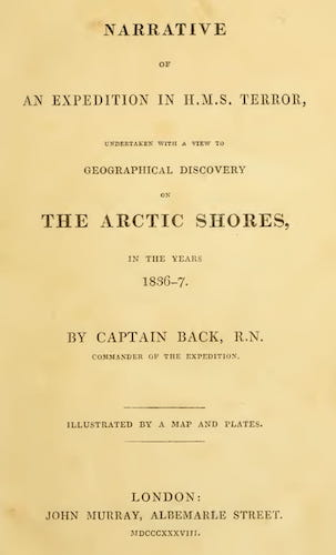 Narrative of an Expedition in H.M.S. Terror (1838)