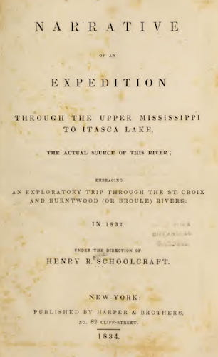 American Southwest - Narrative of an Expedition Through the Upper Mississippi