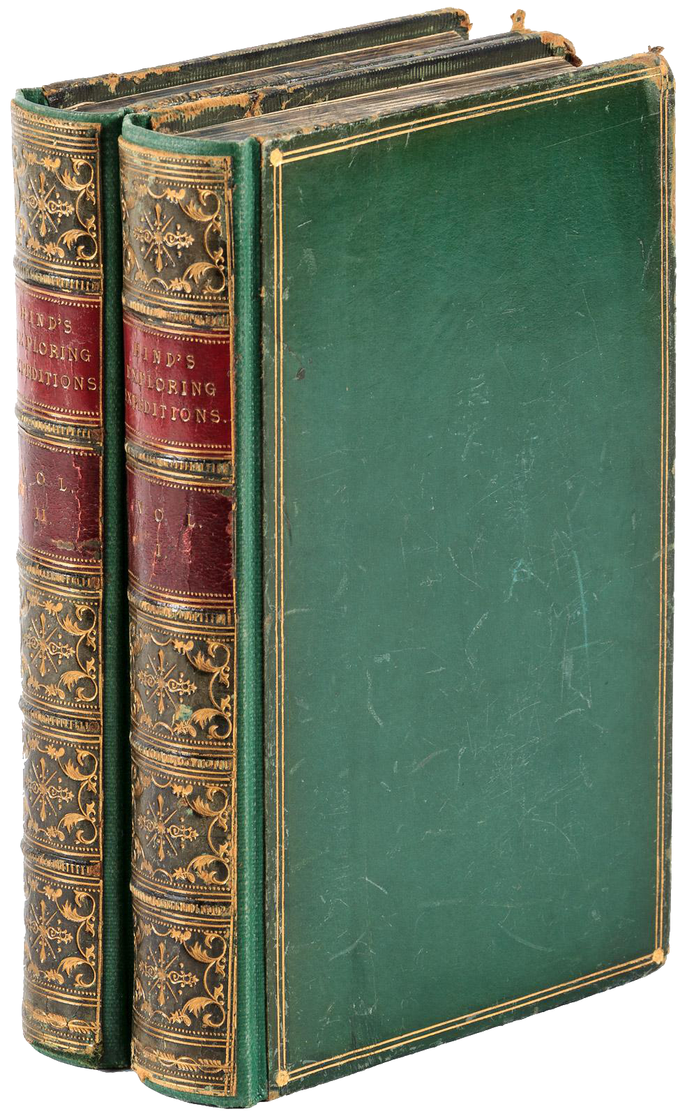 Narrative of the Canadian Red River Exploring Expedition Vol. 1 - Book Display (1860)