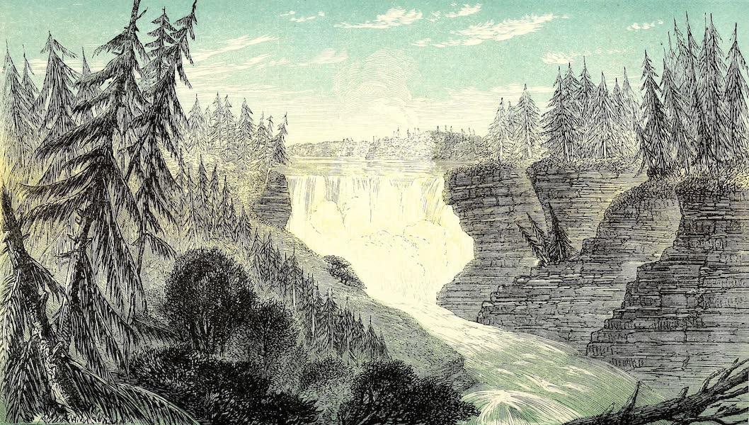 Narrative of the Canadian Red River Exploring Expedition Vol. 1 - Ka-Ka-Beka Falls, Kaministiquia River (1860)