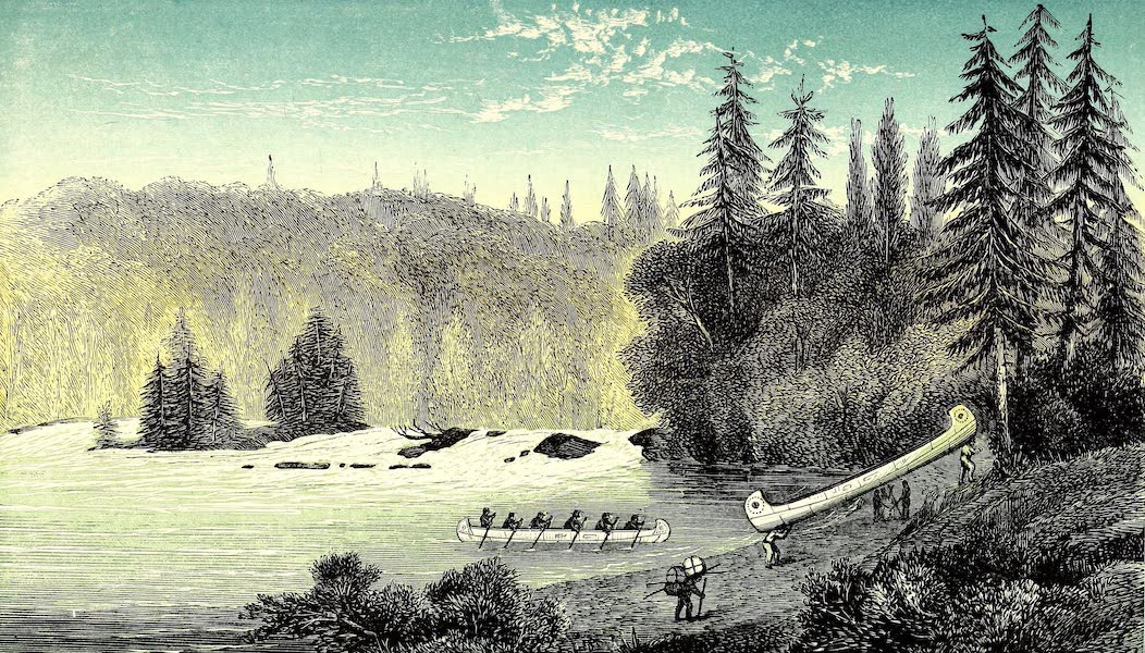Narrative of the Canadian Red River Exploring Expedition Vol. 1 - Beginning of Great Dog Portage (1860)