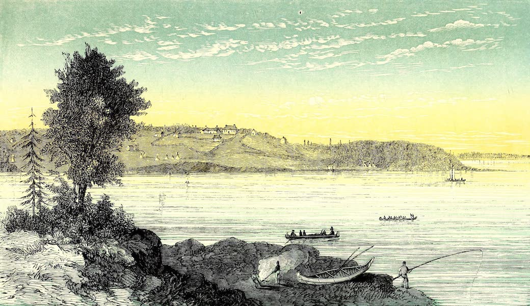 Narrative of the Canadian Red River Exploring Expedition Vol. 1 - Islington Mission, Winnipeg River (1860)