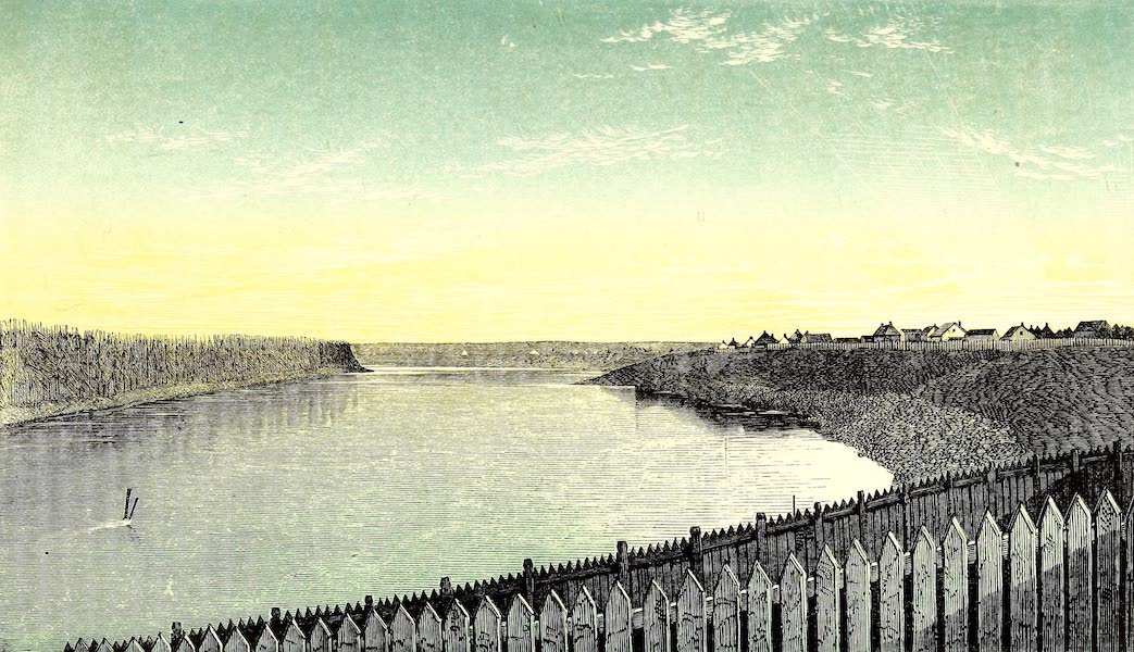 Narrative of the Canadian Red River Exploring Expedition Vol. 1 - Red River from St. Andrews Church (1860)