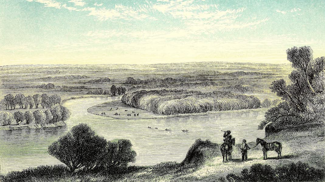 Narrative of the Canadian Red River Exploring Expedition Vol. 1 - Confluence of the Little Souris and the Assinniboine (1860)