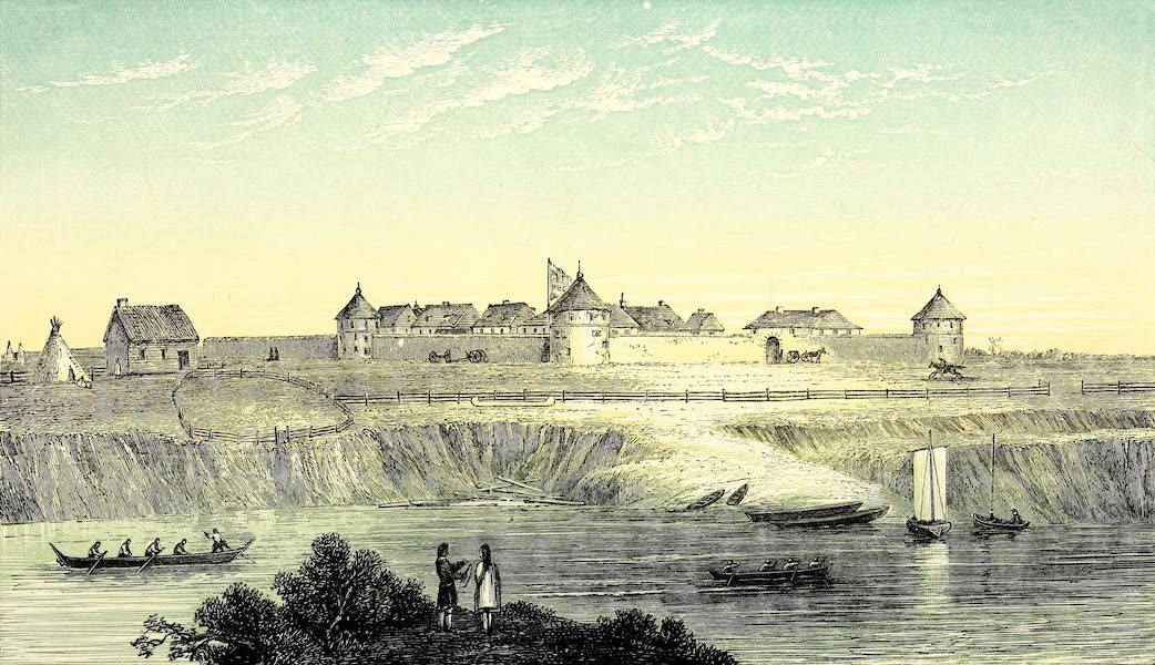 Narrative of the Canadian Red River Exploring Expedition Vol. 2 - Fort Garry (1860)