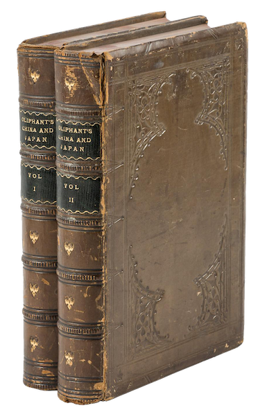 Narrative of the Earl of Elgin's Mission Vol. 1 - Book Display (1859)