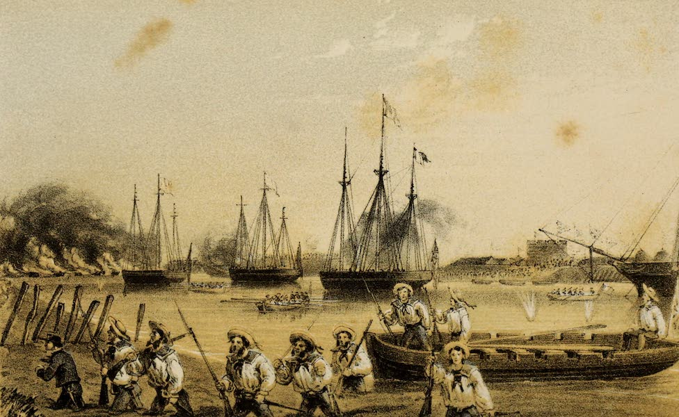 Narrative of the Earl of Elgin's Mission Vol. 1 - Capture of the Peiho Forts. 30th May 1858 (1859)