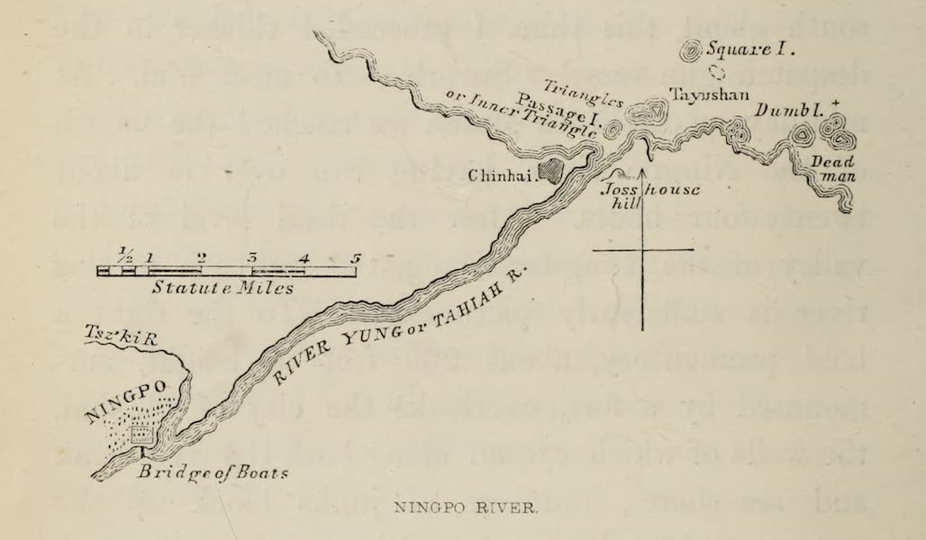 Narrative of the Earl of Elgin's Mission Vol. 1 - Ningpo River (1859)