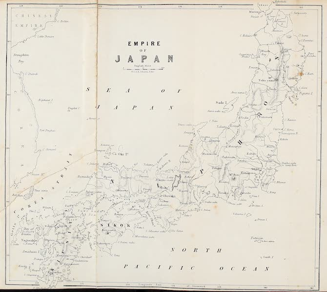 Narrative of the Earl of Elgin's Mission Vol. 2 - Empire of Japan (1859)