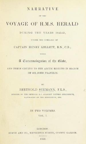 Travel & Scenery - Narrative of the Voyage of H.M.S. Herald Vol. 1