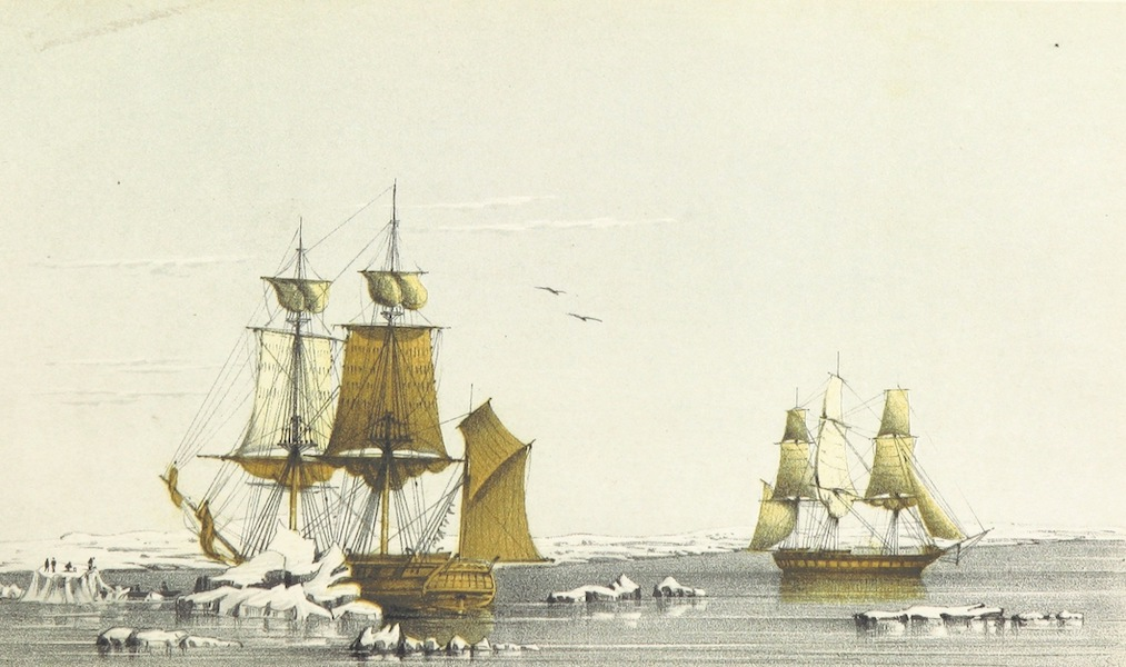 Narrative of the Voyage of H.M.S. Herald Vol. 1 - H.M.S. Herald and Plover in Behring's Strait (1853)