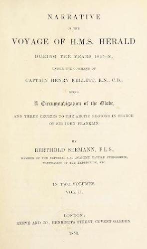 Travel & Scenery - Narrative of the Voyage of H.M.S. Herald Vol. 2