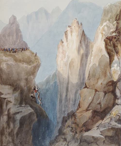 Narratives of South America - The Ravine of the Unburied Dead (1836)