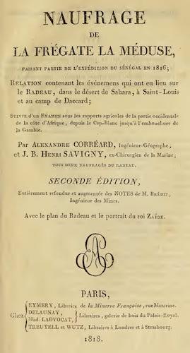 French - Naufrage de la Fregate la Meduse