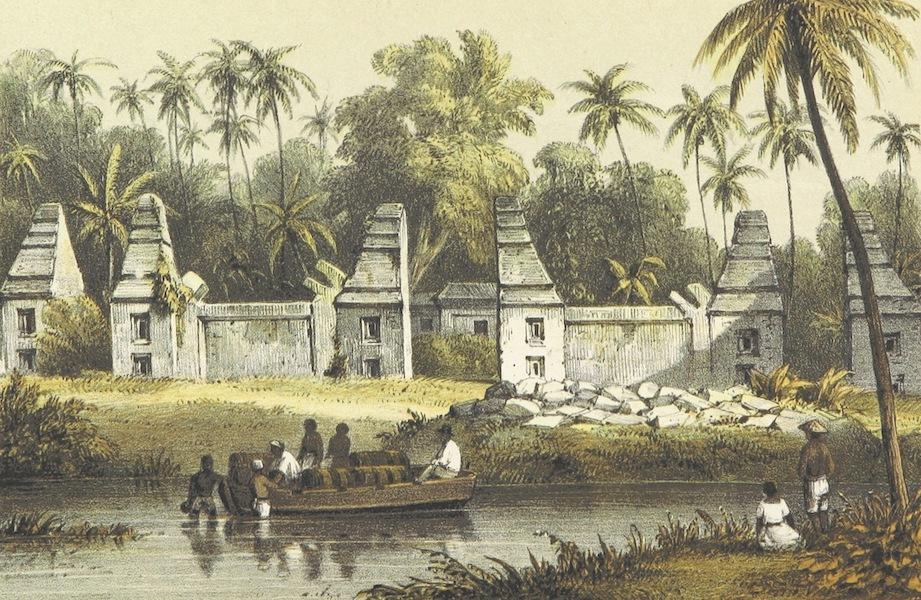 Neerlands-Oost-Indie Vol. 1 - Ruine Van Den Dalam Der Gewezen Sultans Van Bantam (1859)