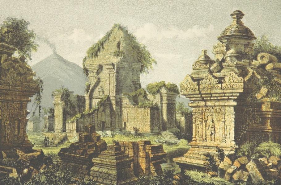Neerlands-Oost-Indie Vol. 1 - Ruinen Van Prambanan, Tjandi Sewoe (1859)