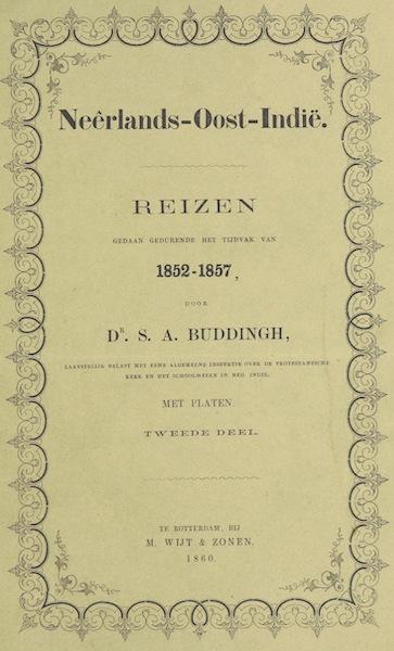 Neerlands-Oost-Indie Vol. 2 - Front Cover (1859)