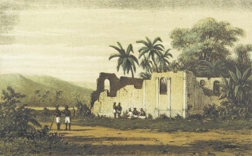 Neerlands-Oost-Indie Vol. 2 - Ruine Van Eene Christen Kerk Te Saparoea (1859)