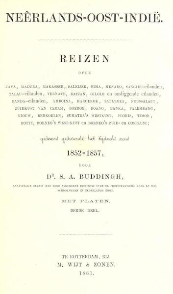 Neerlands-Oost-Indie Vol. 3 - Title Page (1859)