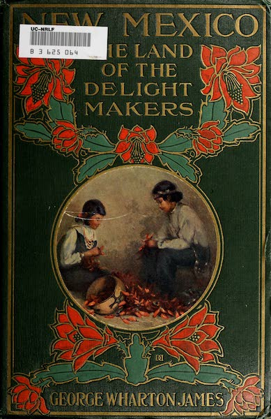 New Mexico, The Land of the Delight Makers - Front Cover (1920)