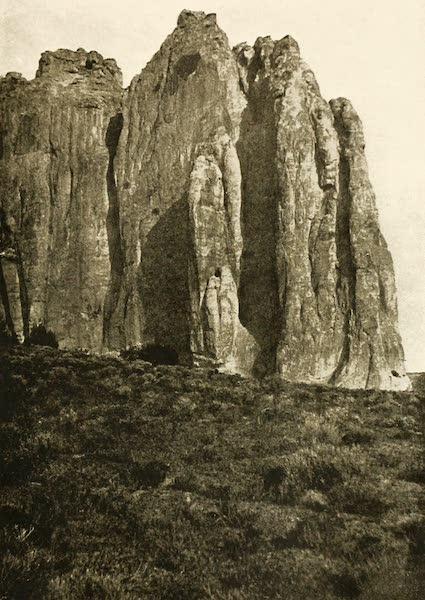 New Mexico, The Land of the Delight Makers - El Morro - Inscription Rock (1920)