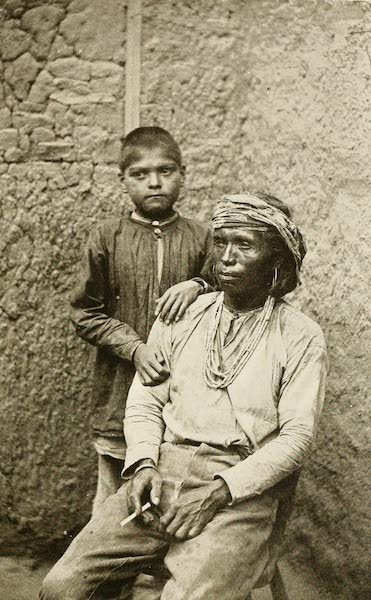 New Mexico, The Land of the Delight Makers - Man and Boy, Zuni (1920)
